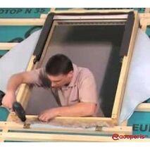 Montaj fereastra mansarda