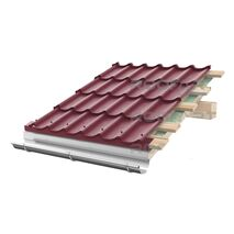 Tigla metalica Roofart Clasic Mat Structurat